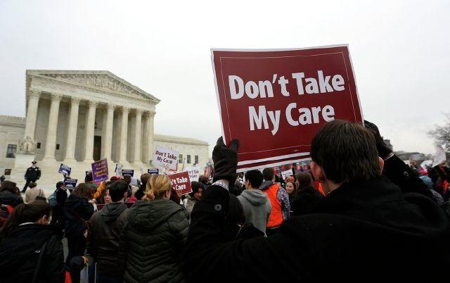 اعتراض به لغو اوباماکر