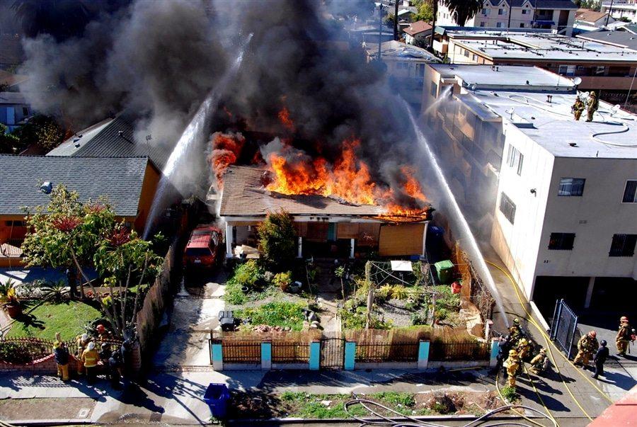 ریسک بیمه آتش سوزی