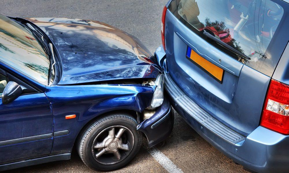 تصادف صحنه به هم خورده